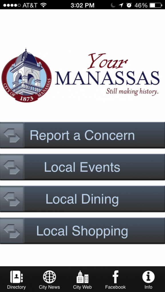 New iPhone App Just for Manassas!