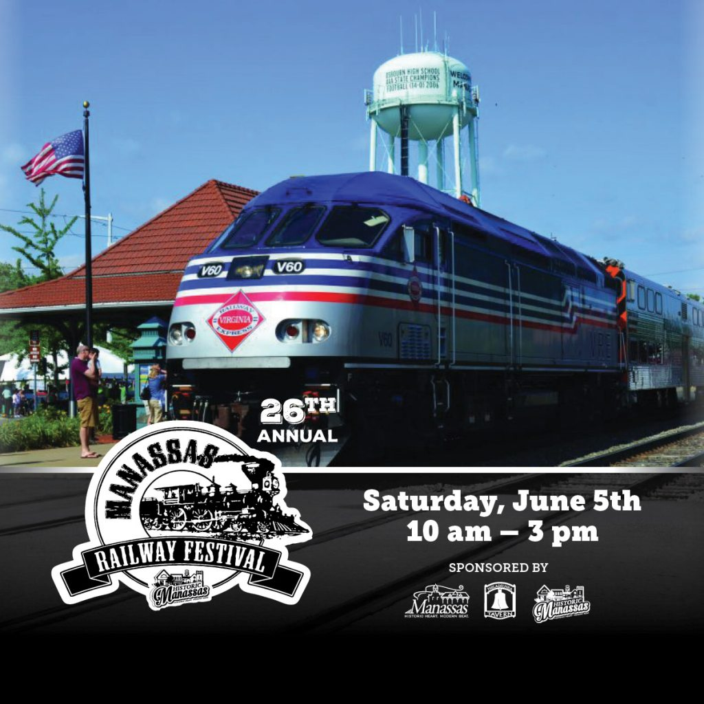 The Manassas Railway Festival is Coming Down the Line